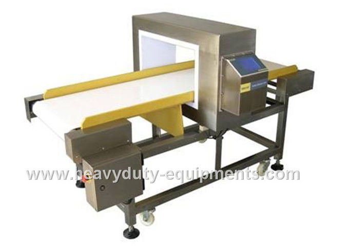 Electromagnet Food Processing Metal Detector Anti - Interference For 800mm Belt Width
