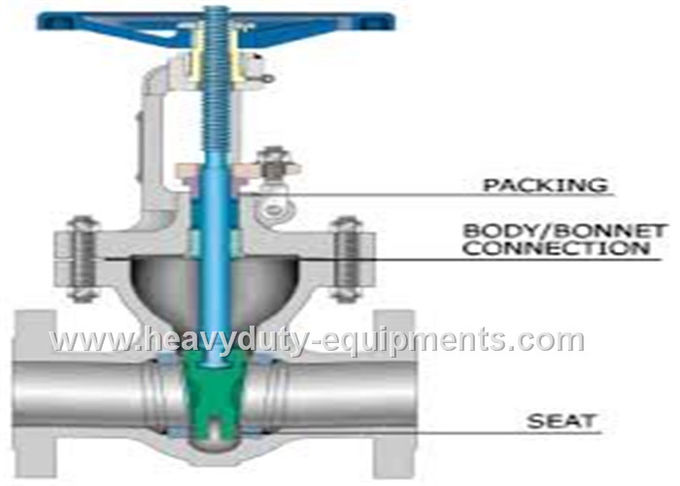 Simple structure knife gate valve with high resilience and no leakage