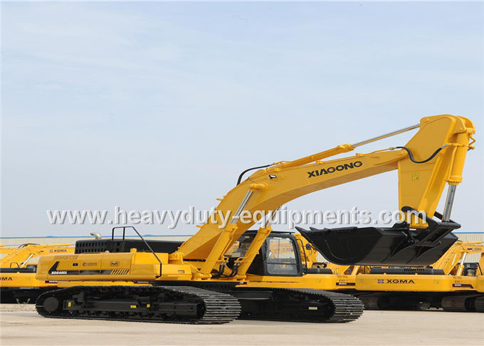 XGMA XG848EL excavator with 9.8m digging height and 264kw power