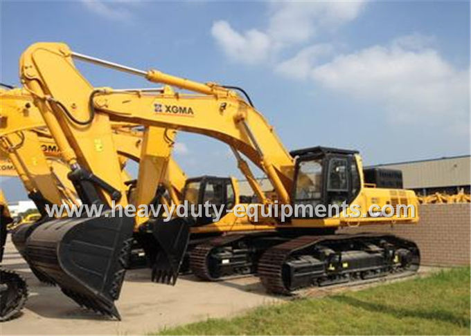 XGMA XG848EL large excavator with 298kn excavation force of digging