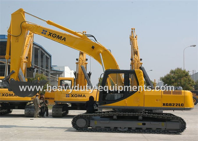 Construction Equipment Hydraulic System Excavator 185Kn Max. Traction