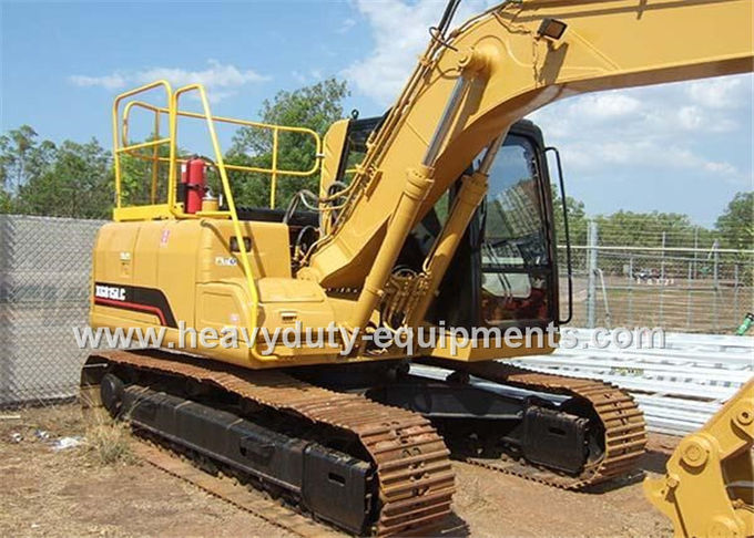 XGMA XG815EL hydraulic excavator Equipped with standard attachment in 0.6 cbm