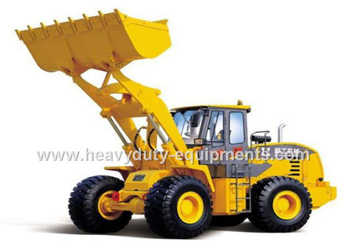 Pilot Control 8 Ton Front End Shovel Loader 28.4t Operating weight with ZF transmission
