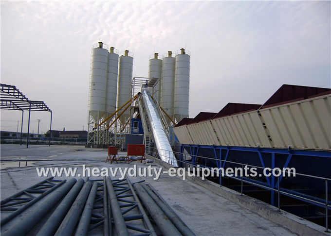 SHANTUI Foundation Free Concrete Batching Plant Urbanization Series Equipment