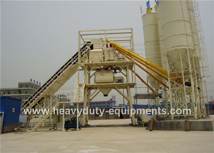 SHANTUI HZN40, HZS50, HZS75, HZS100, and HZS150 Special Batching Plants with different Productivity