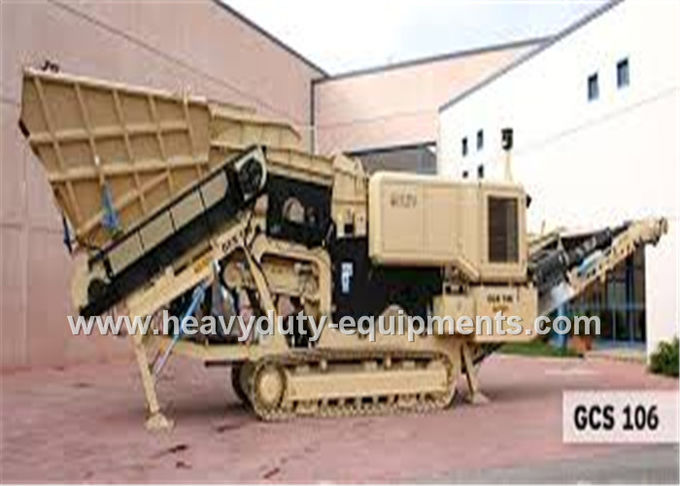 Sinomtp VSI5X Stone Crusher Machine 240-380 t / h Capacity for abrasive filler