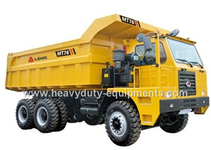 60 tons Off road Mining Dump Truck Tipper  306kW engine power drive 6x4 with 34m3 body cargo Volume